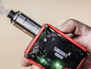 电子烟雾化器为什么抽了几口就很烫?