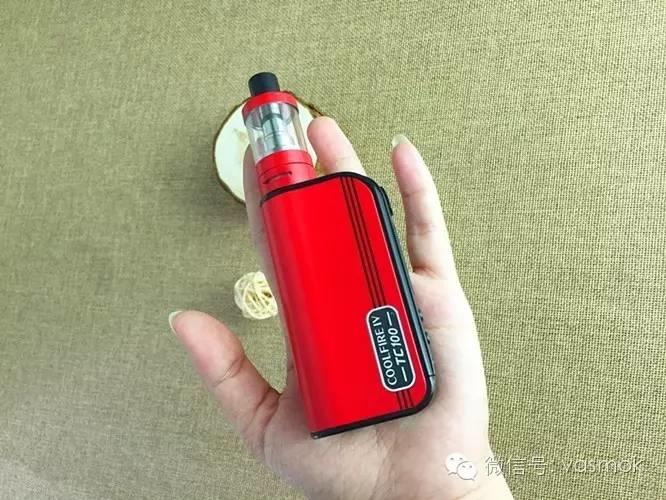 【vasmok新品试用NO.012】新宜康酷火系列再出新品:Cool Fire IV TC100