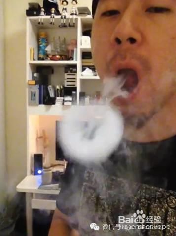电子烟吐烟圈 吐烟圈教学 怎么吐烟圈