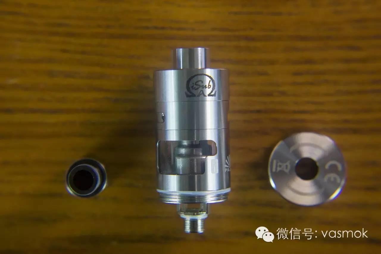 【视频】低阻值大烟雾,新宜康isub Apex雾化器测评!