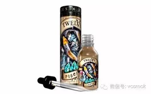【Vasmok新品试用NO.023】TWELVE VAPOR十二星座——来自美国东海岸的高逼格烟油套装