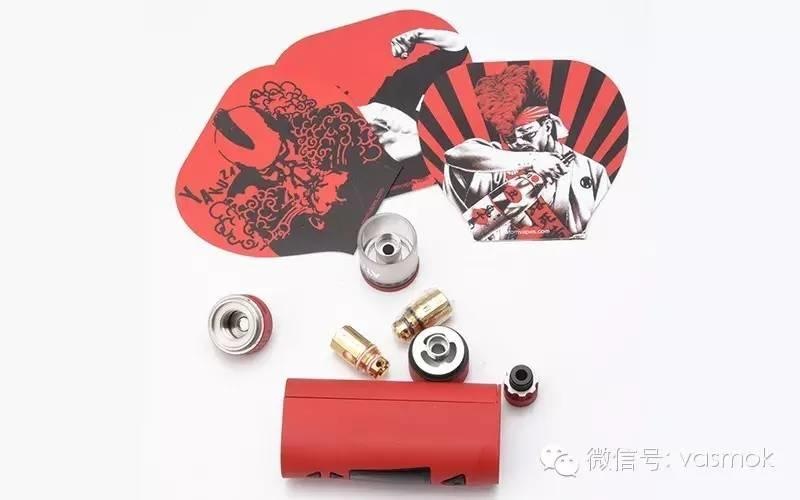 【vasmok新品试用NO.002】ATOM的浪人情歌:yakuza雅库扎70w温控盒子套装
