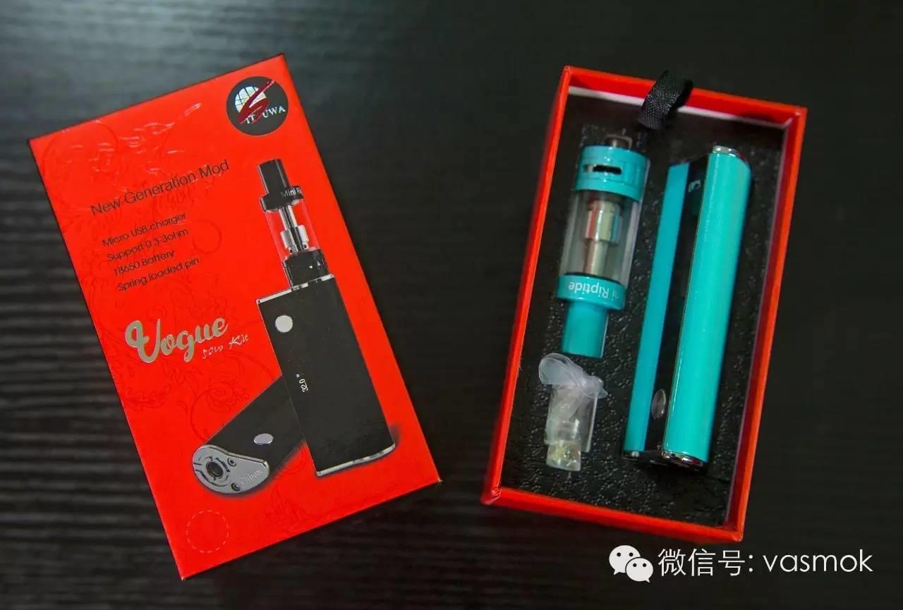【视频】免费送烟油!阿米哥Amigo vogue电子烟套装测评