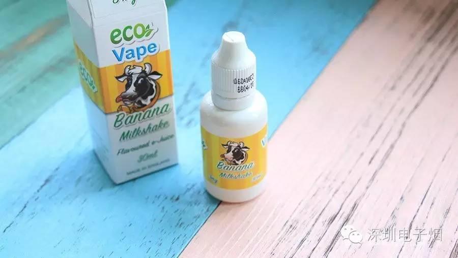 英国原装进口奶昔烟油ECO VAPE测评