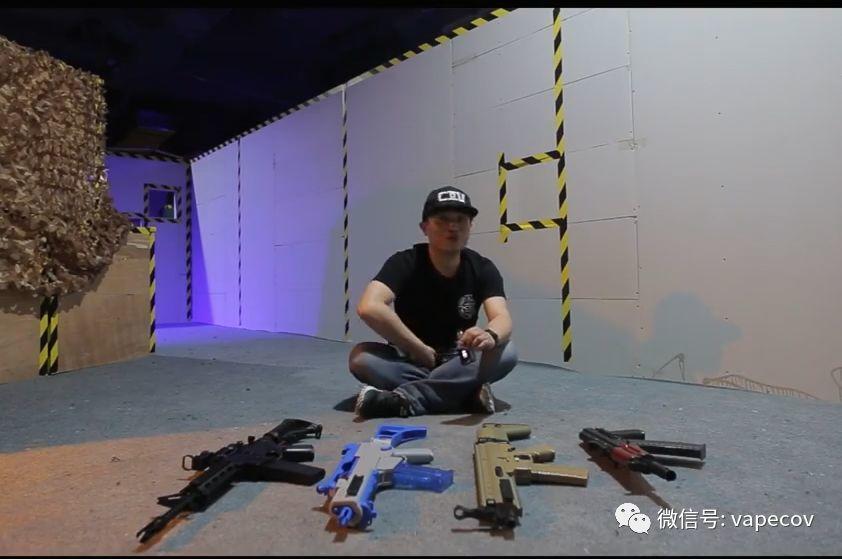 【COV Range+VAPE 柒】一个你没有体验过的暴力评测视频