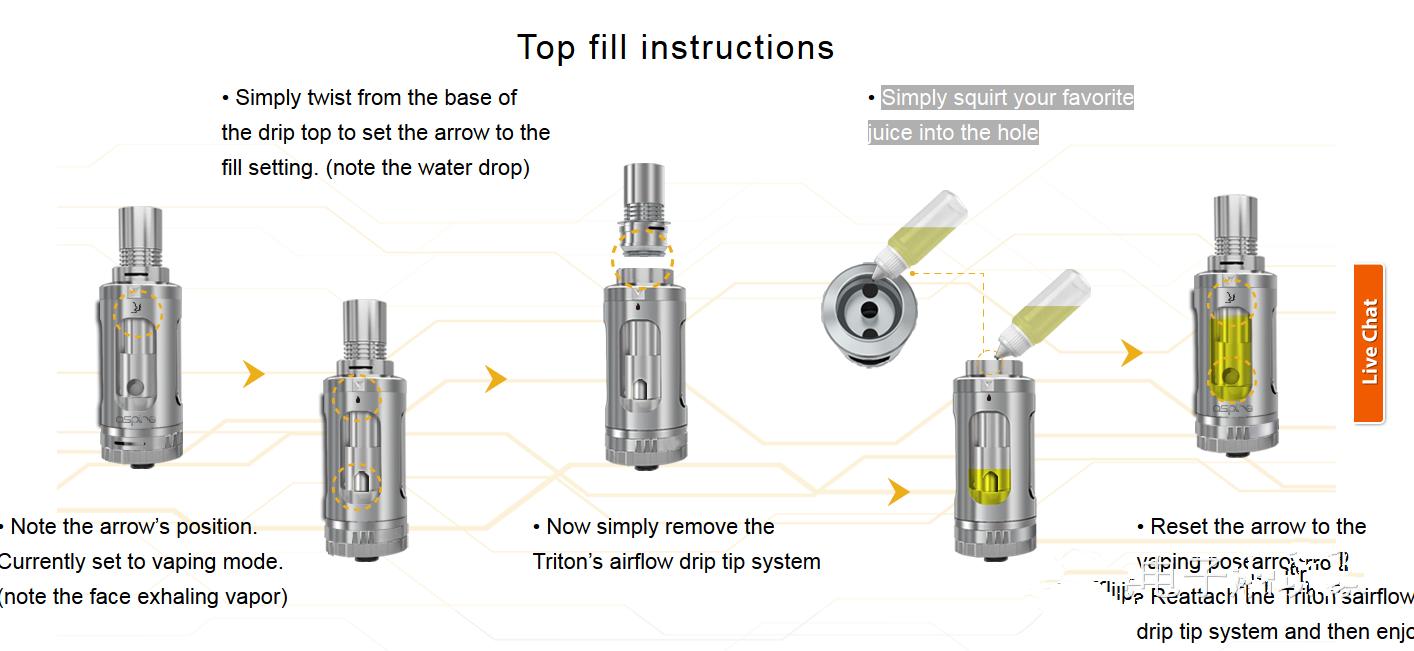 Aspire发布新款Triton雾化器 6月22正式发布