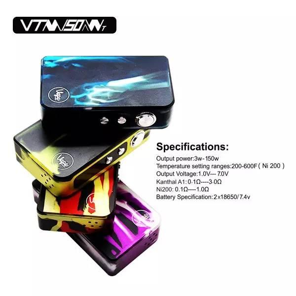 Vape Connexx VTM50'150W温控调压盒子评测